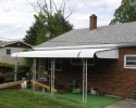 A White Aluminum Awning in Glen Mills, PA